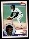 1983 Topps #200   Rod Carew Front Thumbnail