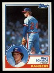 1983 Topps #116  Dave Schmidt  Front Thumbnail