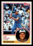1983 Topps #54  Jim Maler  Front Thumbnail