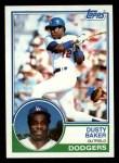 1983 #220  Dusty Baker  Front Thumbnail