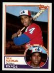 1983 Topps #237   Dan Norman Front Thumbnail