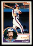 1983 Topps #57   Tim Blackwell Front Thumbnail