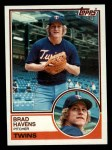 1983 Topps #751  Brad Havens  Front Thumbnail