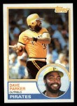 1983 Topps #205   Dave Parker Front Thumbnail