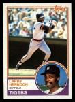 1983 Topps #13  Larry Herndon  Front Thumbnail