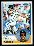 1983 Topps #117   Alan Knicely Front Thumbnail