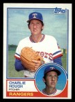1983 Topps #479   Charlie Hough Front Thumbnail
