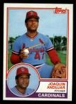 1983 Topps #228   Joaquin Andujar Front Thumbnail