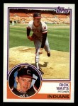 1983 Topps #779   Rick Waits Front Thumbnail