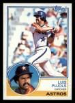1983 Topps #752  Luis Pujols  Front Thumbnail
