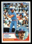 1983 Topps #776  Larry Parrish  Front Thumbnail