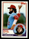 1983 Topps #150   Bruce Sutter Front Thumbnail