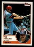 1983 Topps #232  Tom Brunansky  Front Thumbnail