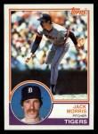 1983 Topps #65  Jack Morris  Front Thumbnail