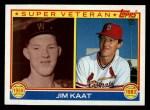 1983 Topps #673  Super Veteran  -  Jim Kaat Front Thumbnail