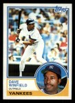 1983 Topps #770   Dave Winfield Front Thumbnail