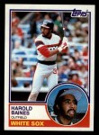 1983 Topps #177   Harold Baines Front Thumbnail