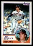 1983 Topps #48  Larry Sorenson  Front Thumbnail