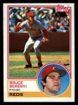 1983 Topps #139  Bruce Berenyi  Front Thumbnail