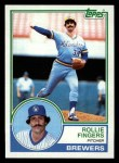 1983 Topps #35   Rollie Fingers Front Thumbnail