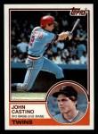 1983 Topps #93   John Castino Front Thumbnail