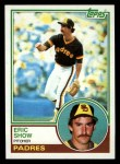 1983 Topps #68  Eric Show  Front Thumbnail