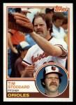 1983 Topps #217  Tim Stoddard  Front Thumbnail
