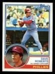 1983 Topps #148   Dave Roberts Front Thumbnail