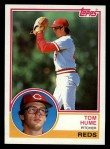 1983 Topps #86   Tom Hume Front Thumbnail
