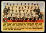 1956 Topps #40  Eagles Team  Front Thumbnail