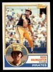1983 Topps #97   Ross Baumgarten Front Thumbnail