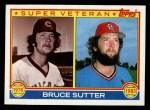 1983 Topps #151  Super Veteran  -  Bruce Sutter Front Thumbnail
