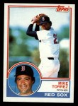 1983 Topps #743  Mike Torrez  Front Thumbnail
