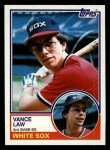 1983 Topps #98   Vance Law Front Thumbnail