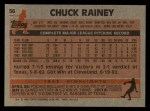1983 Topps #56   Chuck Rainey Back Thumbnail