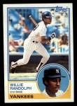 1983 Topps #140  Willie Randolph  Front Thumbnail