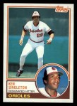 1983 Topps #85  Ken Singleton  Front Thumbnail