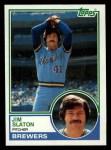 1983 Topps #114  Jim Slaton  Front Thumbnail