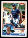 1983 Topps #212   John Stearns Front Thumbnail