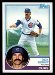 1983 Topps #787   Dick Tidrow Front Thumbnail