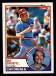 1983 Topps #206   Ken Oberkfell Front Thumbnail