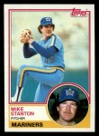 1983 Topps #159  Mike Stanton  Front Thumbnail