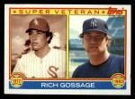 1983 Topps #241  Super Veteran  -  Goose Gossage Front Thumbnail