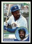 1983 Topps #773   Larry Hisle Front Thumbnail