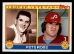1983 Topps #101   -  Pete Rose Super Veteran Front Thumbnail