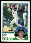 1983 Topps #15   Ron Cey Front Thumbnail