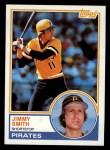 1983 Topps #122   Jim Smith Front Thumbnail