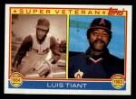 1983 Topps #179  Super Veteran  -  Luis Tiant Front Thumbnail