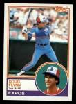 1983 Topps #169   Doug Flynn Front Thumbnail