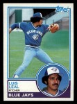 1983 Topps #109   Luis Leal Front Thumbnail